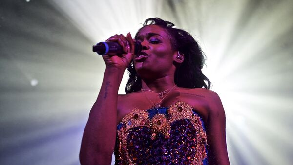 Azealia Banks performs in concert at Irving Plaza on Monday, May 11, 2015, in New York - Sputnik International