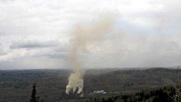 Smoke from the Raspadskaya mine in Kemerovo Region (File) - Sputnik International