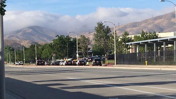 Shooting in Highland Highschool in Palmdale California - Sputnik International