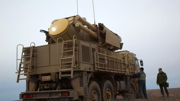 The Pantsir-S surface-to-air missile system. File photo - Sputnik International