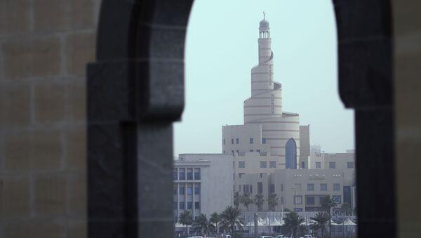 View of the Islamic Cultural Center Fanar in Doha - Sputnik International