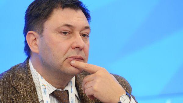 RIA Novosti Ukraine's Editor-in-Chief Kirill Vyshinsky at the 2015 Forum of European and Asian Media (photo from archieve). Kirill Vyshinsky was arrested by the Ukrainian Security Service in Kiev - Sputnik International