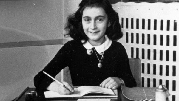 Anne Frank © Anne Frank House - Sputnik International
