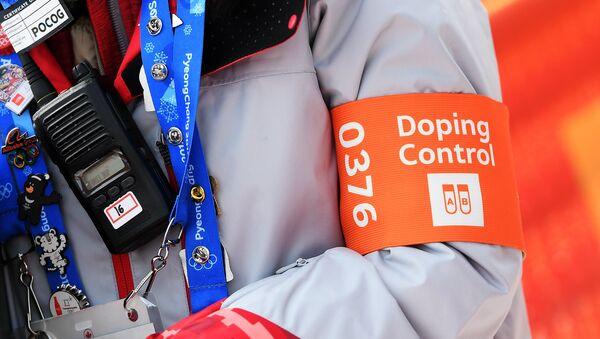 A doping control officer (File) - Sputnik International