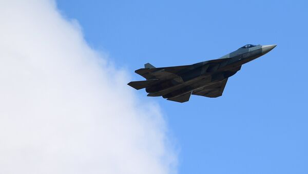Su-57 multipurpose jet fighter - Sputnik International