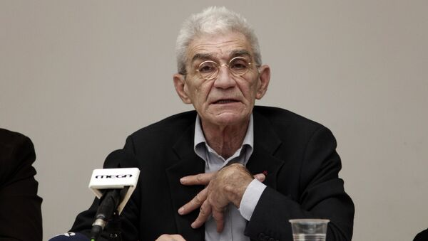 (File) Mayor of Thessaloniki, Yiannis Boutaris answers questions during a news conference in Athens, on Tuesday, Dec 4, 2012 - Sputnik International