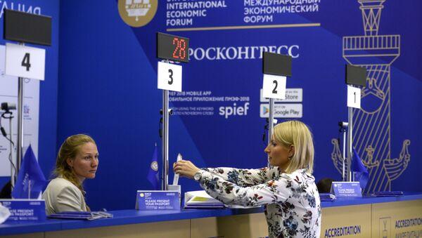 Preparations for 2018 SPIEF in St. Petersburg - Sputnik International