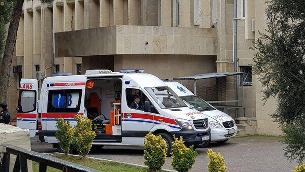Ambulance in Baku, Azerbaijan (File) - Sputnik International