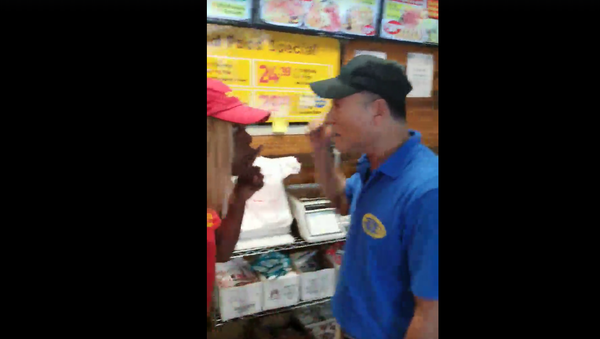 Asian Shop Owner Strikes Black Employee in Snellville, Georgia - Sputnik International