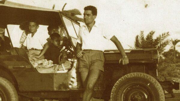Eli Cohen en el canal de Suez - Sputnik International