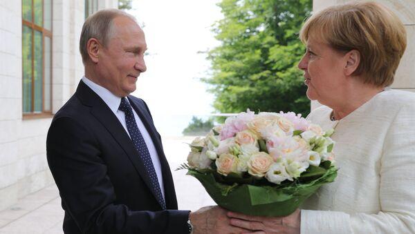 Power Blooming: What Flowers Global Leaders Prefer - Sputnik International