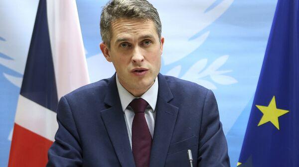 Britain's Defence Secretary Gavin Williamson - Sputnik International