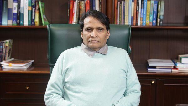 Suresh Prabhu - Sputnik International