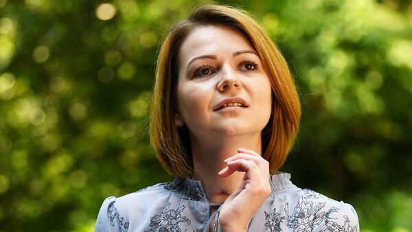 Yulia Skripal, who was poisoned in Salisbury along with her father, Russian spy Sergei Skripal, speaks to Reuters in London, Britain, May 23, 2018 - Sputnik International