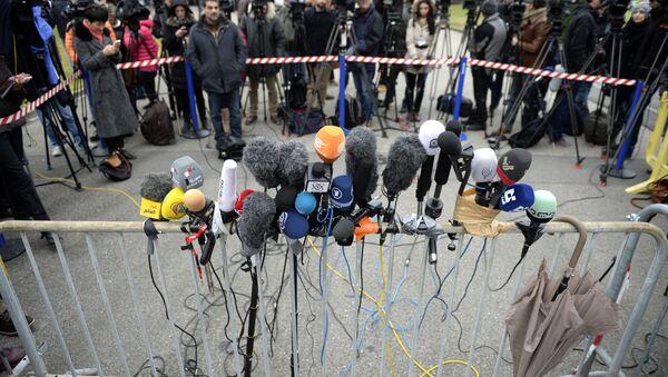 Пресс-конференция. Архивное фото - Sputnik International