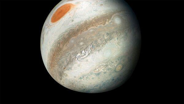 Jupiter Image captured by Juno Spacecraft - Sputnik International