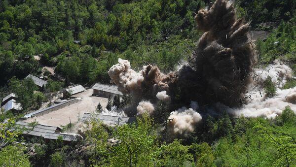 Dismantling of North Korea's Punggye-ri nuclear test site - Sputnik International