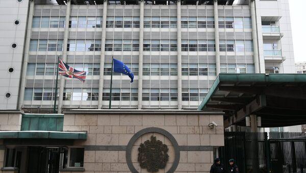 The UK Embassy in Moscow - Sputnik International