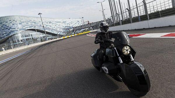 Motorcycle of the Kortezh (Cortege) project - Sputnik International