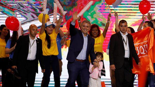 Iván Duque, candidato a la presidencia de Colombia - Sputnik International