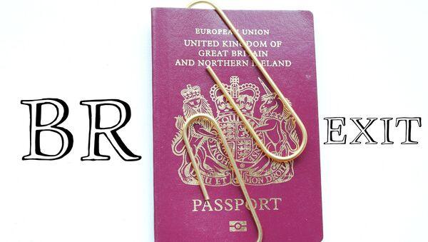 British passport - Sputnik International