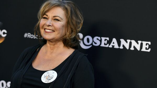FILE - In this March 23, 2018, file photo, Roseanne Barr arrives at the Los Angeles premiere of Roseanne on Friday in Burbank, Calif. - Sputnik International