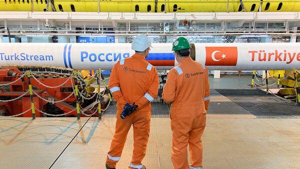 Turkish stream - Sputnik International