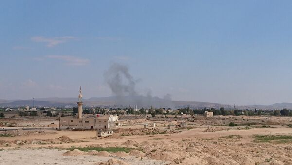 Blasts in the south of Damascus - Sputnik International