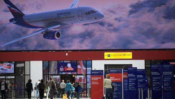 New passenger terminal B of the Sheremetyevo airport - Sputnik International