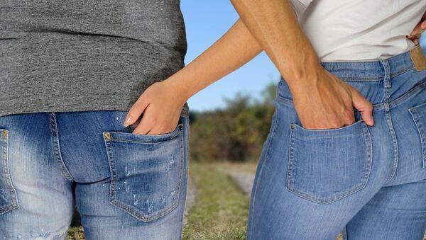 Couple in jeans - Sputnik International