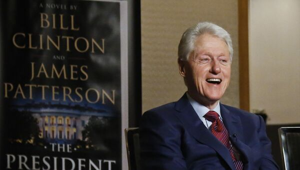In this Monday, May 21, 2018 photo, former President Bill Clinton speaks during an interview about a novel he wrote with James Patterson, The President is Missing, in New York - Sputnik International