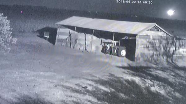Surveillance footage captures moment asteroid 2018 LA explodes over Botswana - Sputnik International
