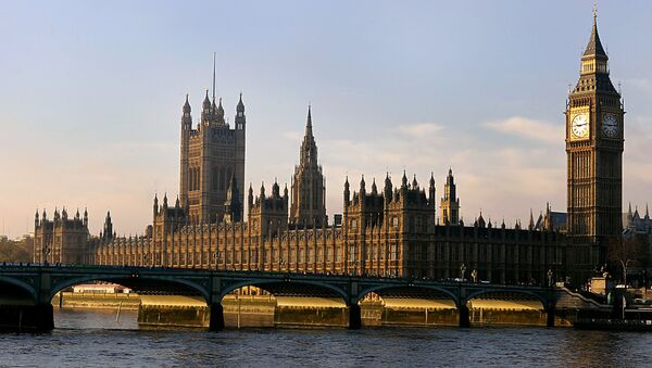 The Houses of Parliament are seen in London. (File) - Sputnik International