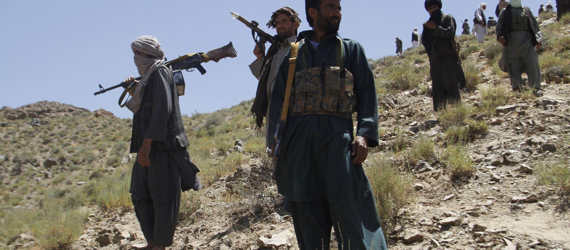 Taliban fighters. (File) - Sputnik International, 1920, 09.07.2021