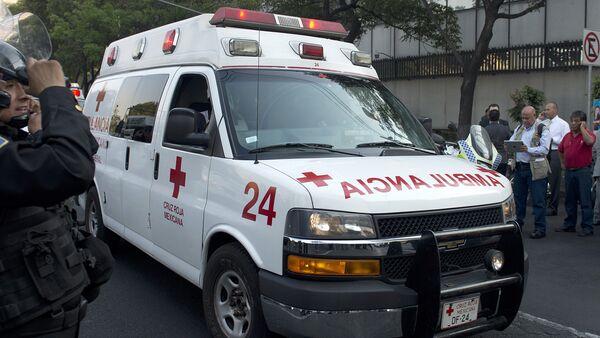Ambulance in Mexico. File photo - Sputnik International