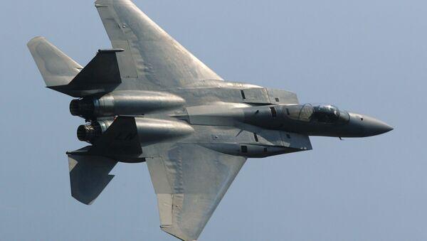 An F-15 Eagle American fighter. (File) - Sputnik International