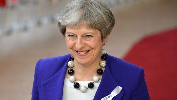 UK Prime Minister Theresa May on EU Summit in Brussels - Sputnik International