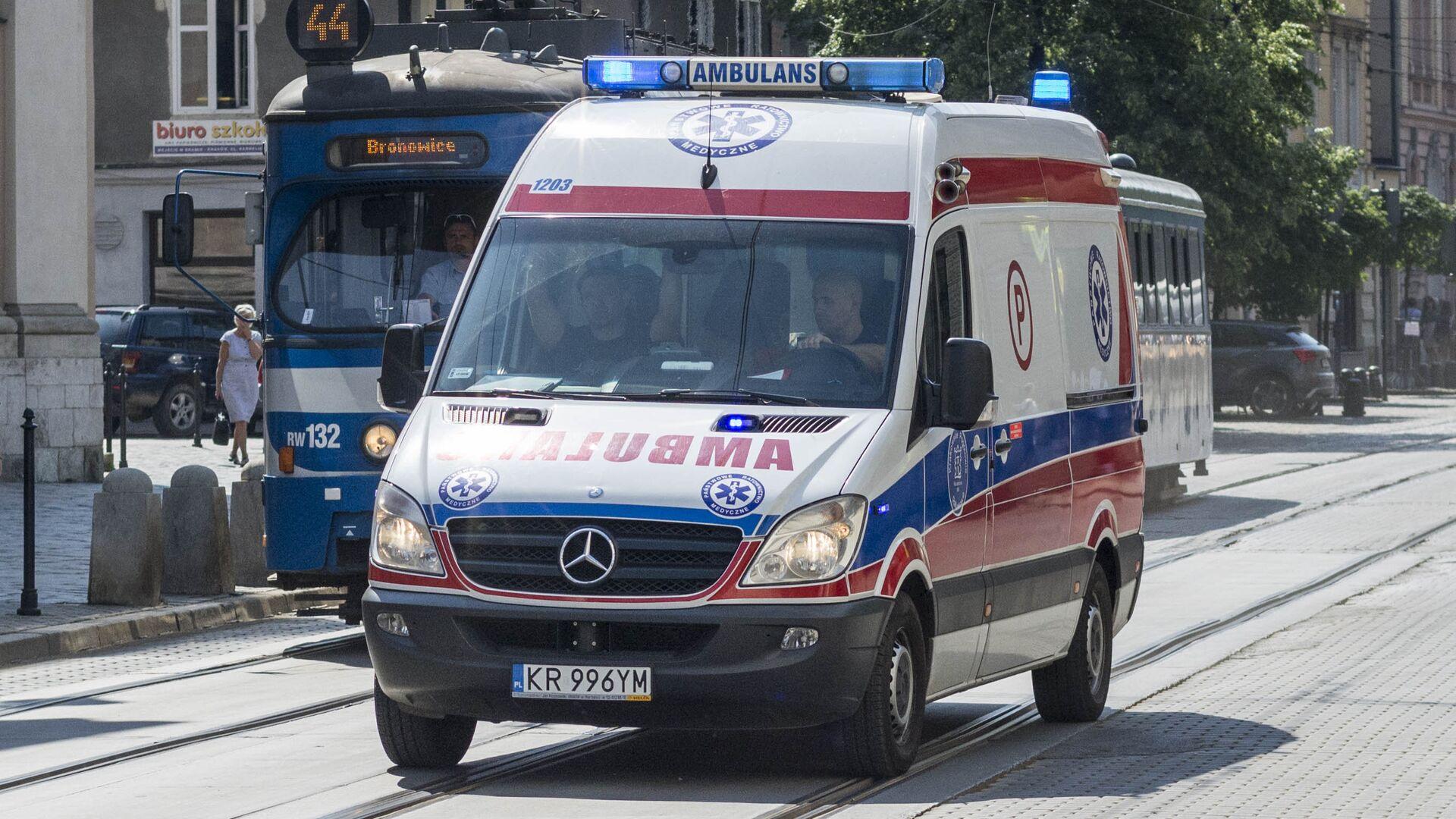 Ambulance in Poland - Sputnik International, 1920, 02.08.2021