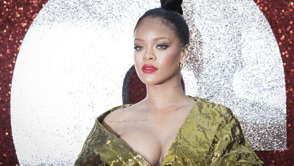 Rihanna poses for photographers upon arrival at the premiere of the film 'Ocean's 8' in London, Wednesday June 13, 2018.  - Sputnik International