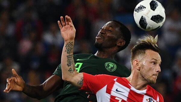 Croatia vs Nigeria in teams' first match at FIFA World Cup. - Sputnik International