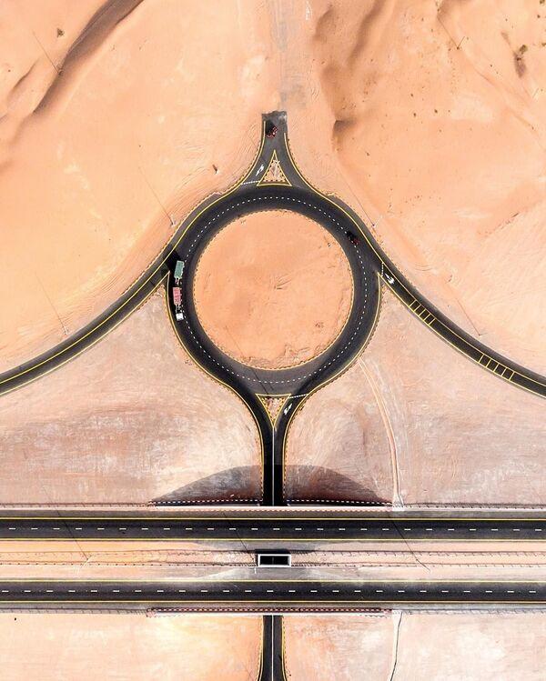 Kingdom of Sand: How Desert Engulfs Dubai and Abu Dhabi - Sputnik International
