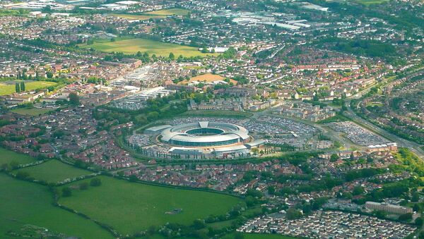 GCHQ from just East of Cheltenham - Sputnik International