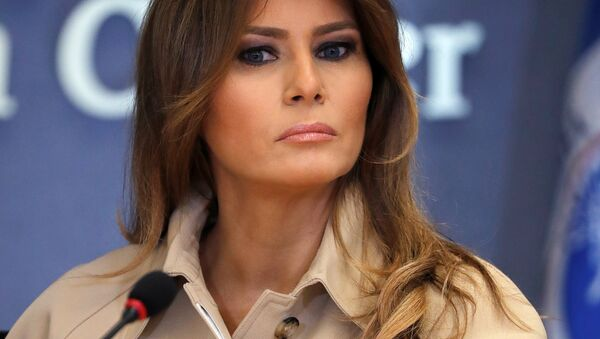 U.S. first lady Melania Trump (File) - Sputnik International