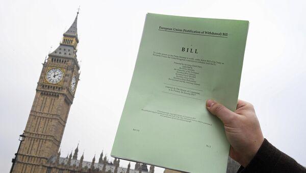 Brexit Article 50 bill - Sputnik International