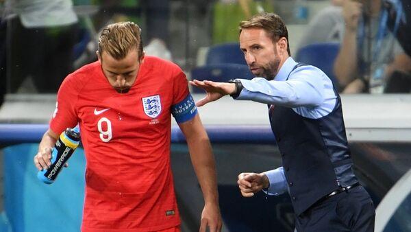 Футбол. ЧМ-2018. Матч Тунис - Англия - Sputnik International
