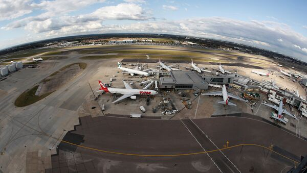 A general view Heathrow Airport near London, Britain October 11, 2016 - Sputnik International