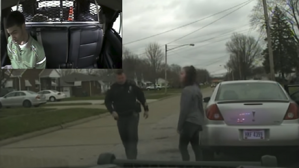 Former Lorain, Ohio police officer John Kovach was fired after detaining his daughter and her black boyfriend after he threatened to make up charges against him. - Sputnik International