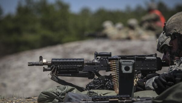 M240 Machine Gun - Sputnik International