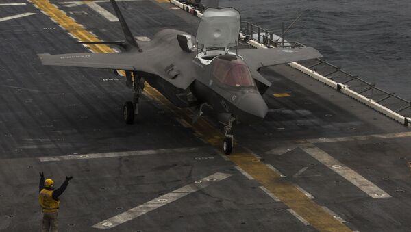 F-35 East China Sea - Sputnik International