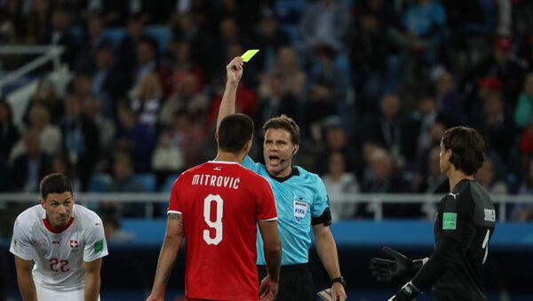 World Cup - Group E - Serbia vs Switzerland - Kaliningrad Stadium, Kaliningrad, Russia - June 22, 2018 - Sputnik International